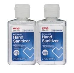 CVS: Health Advanced Hand Sanitizer Twinpack 4oz, Starting at $2.99